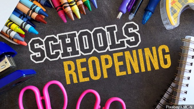 OLV Preschool Reopening Plan