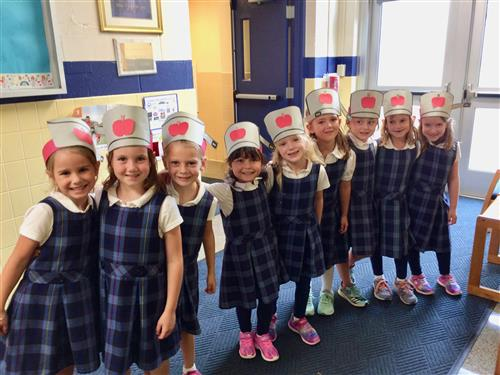 Johnny Appleseed Day in First Grade