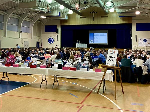 Trivia Buffs and Friends Filled the Gym at OLV Trivia Night