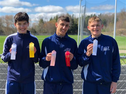 OLV 8th Grade Boys Earn Ribbons at Johnsonburg