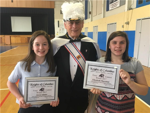 Knights of Columbus Essay Contest Winners