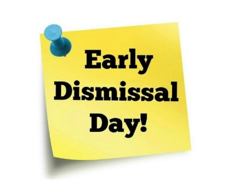 Early Dismissal on Wednesday, March 4, 2020