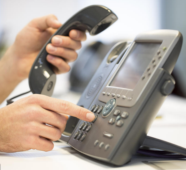 Office Phones Are Not Working: Contact Office Staff Via Email