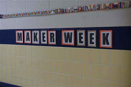 Maker Weeks at the library